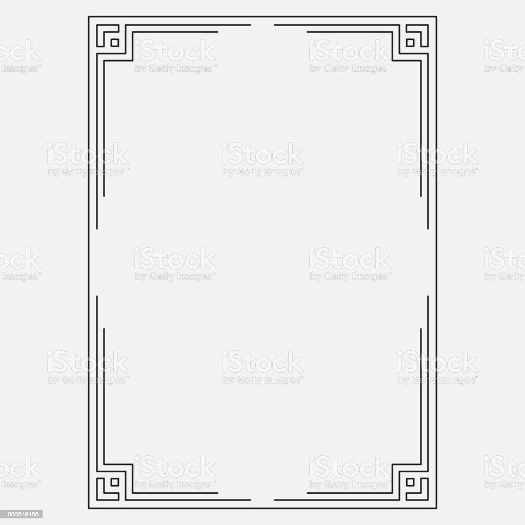 vector image, dark icon, decorative