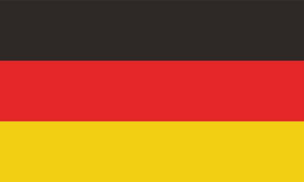 ドイツの旗のベクトル画像 - ドイツの国旗点のイラスト素材/クリップアート素材/マンガ素材/アイコン素材