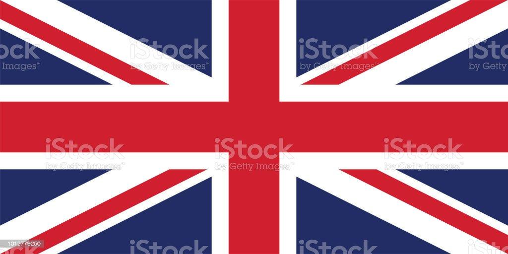 イギリス国旗のベクトル画像 ベクターアートイラスト