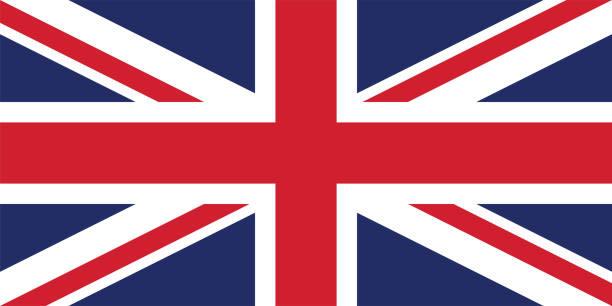 イギリス国旗のベクトル画像 - イギリスの国旗点のイラスト素材/クリップアート素材/マンガ素材/アイコン素材