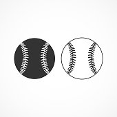istock Vector image of a baseball icon. 1266613496