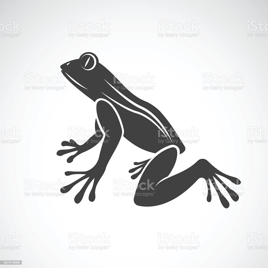 Vector image of a frog design vektorkonstillustration