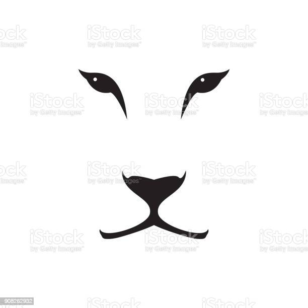Vector image of a lioness head on white background wild cat vector id908262932?b=1&k=6&m=908262932&s=612x612&h=enunafit05pvyvfwyy1m fml3aalq uwgqvdrvtjdc4=