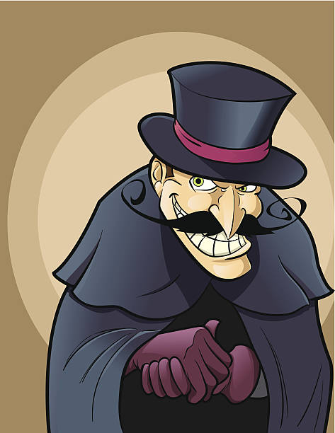 Best Villain Illustrations, Royalty-Free Vector Graphics