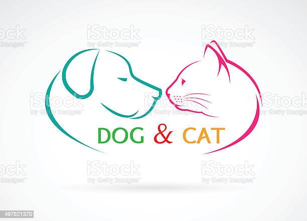 Vector image of an dog and cat vector id497521370?b=1&k=6&m=497521370&s=612x612&h=rjigja89on5pzlhetwlelo1gfbnxuxs3asadk1x61da=