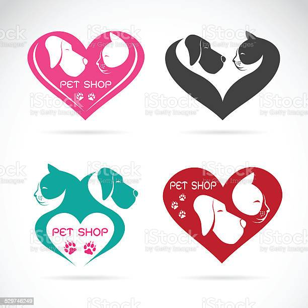 Vector image of an dog and cat with heart vector id529746249?b=1&k=6&m=529746249&s=612x612&h=lrfnyhcwaackc8dtzd0dlwilwbqob20vhif7s3dxmt4=