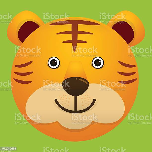 Vector image of cute face of tiger vector id512042698?b=1&k=6&m=512042698&s=612x612&h=wrulr2monongalxmhgpycpqndtvkk41mh0crx5 3qt8=