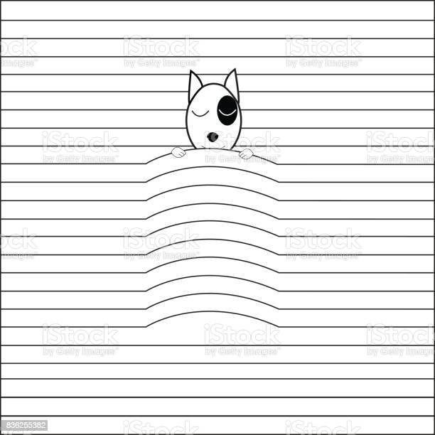 Vector image of dog sleep on lines of book by using a line of book is vector id836255382?b=1&k=6&m=836255382&s=612x612&h=6l5hinuj4qgsxvt0hoq1mig93oidjlgxf36wj6m wpa=