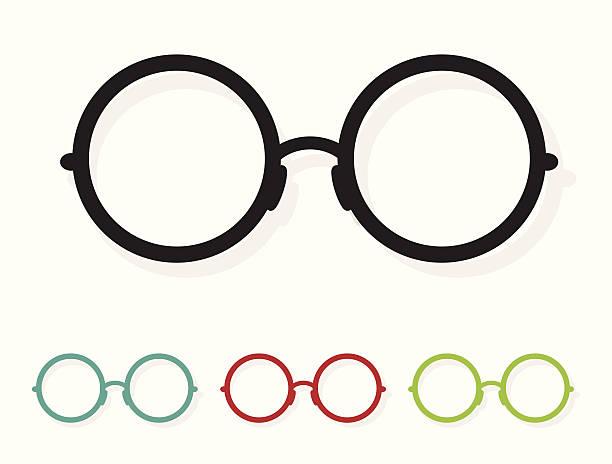 vektor-bild von brille weiß - uncool stock-grafiken, -clipart, -cartoons und -symbole