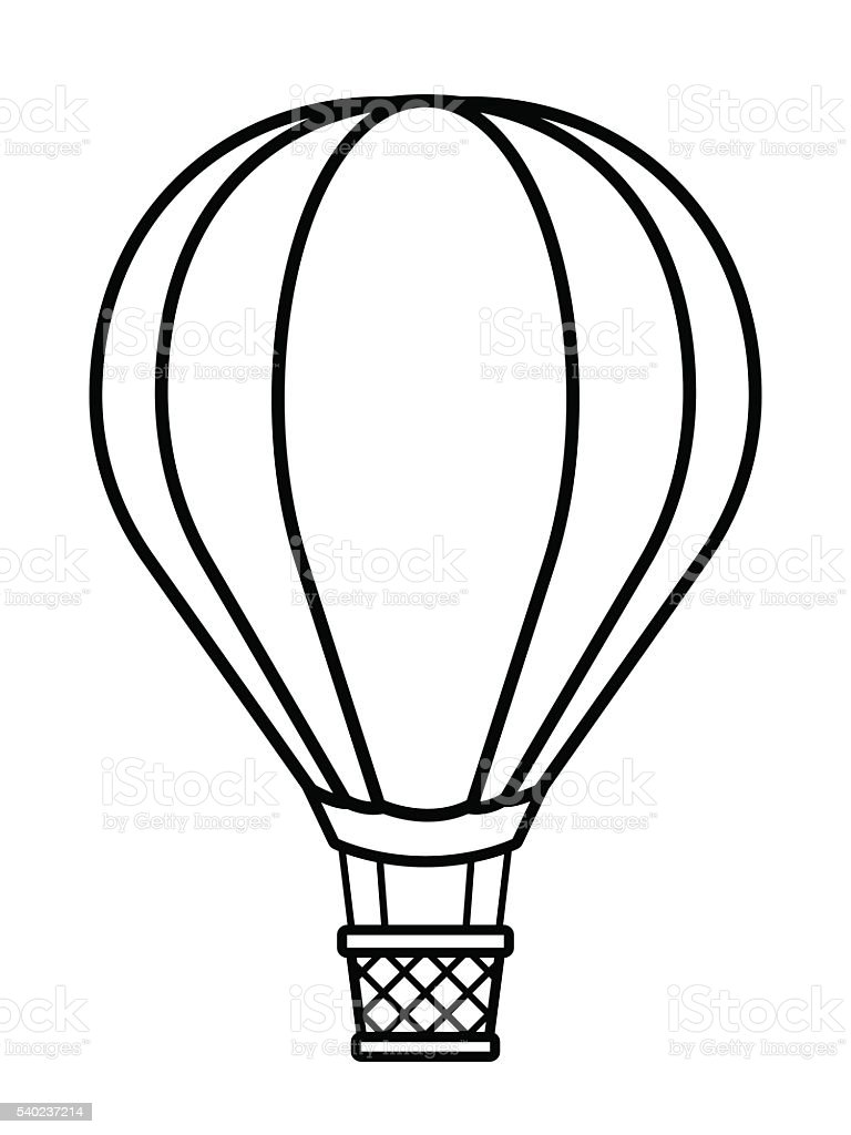 royalty free inside hot air balloon clip art vector images rh istockphoto com Car Clip Art Black and White hot air balloon basket clipart black and white