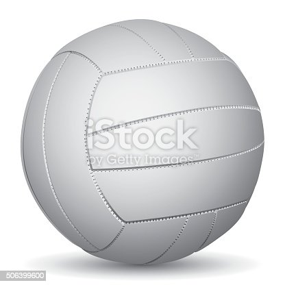 istock Vector image of Volleyball 506399600