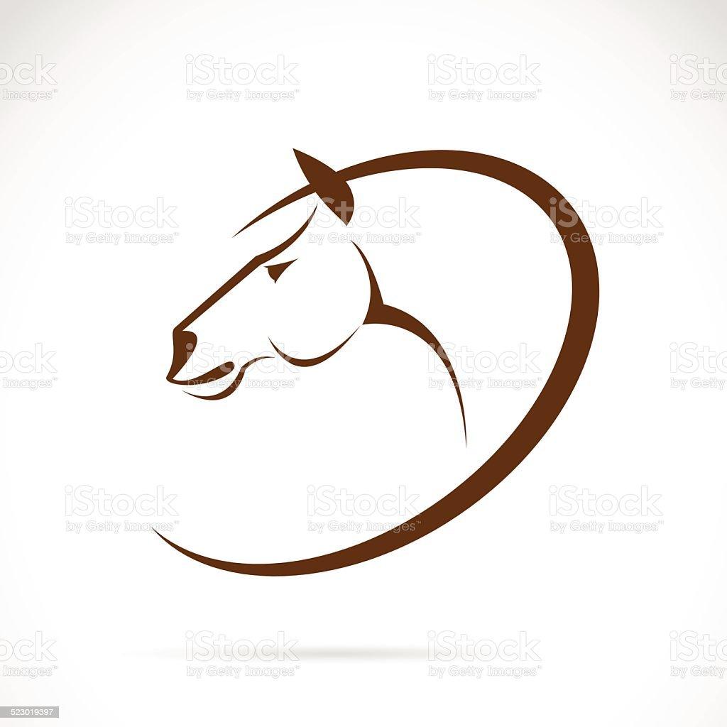 Vector images of horse design vector art illustration