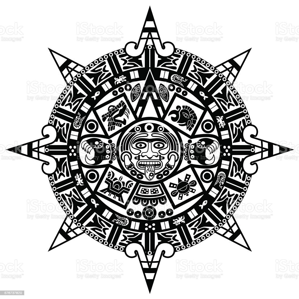 vector Indian ornament vector art illustration