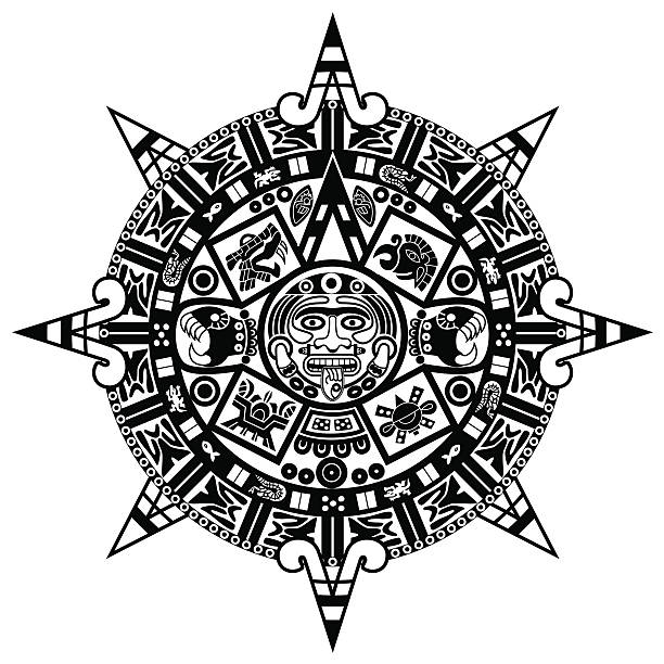 vector Indian ornament vector art illustration