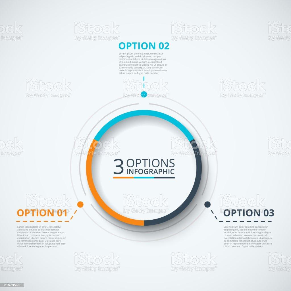 Vector infographic design template.向量藝術插圖
