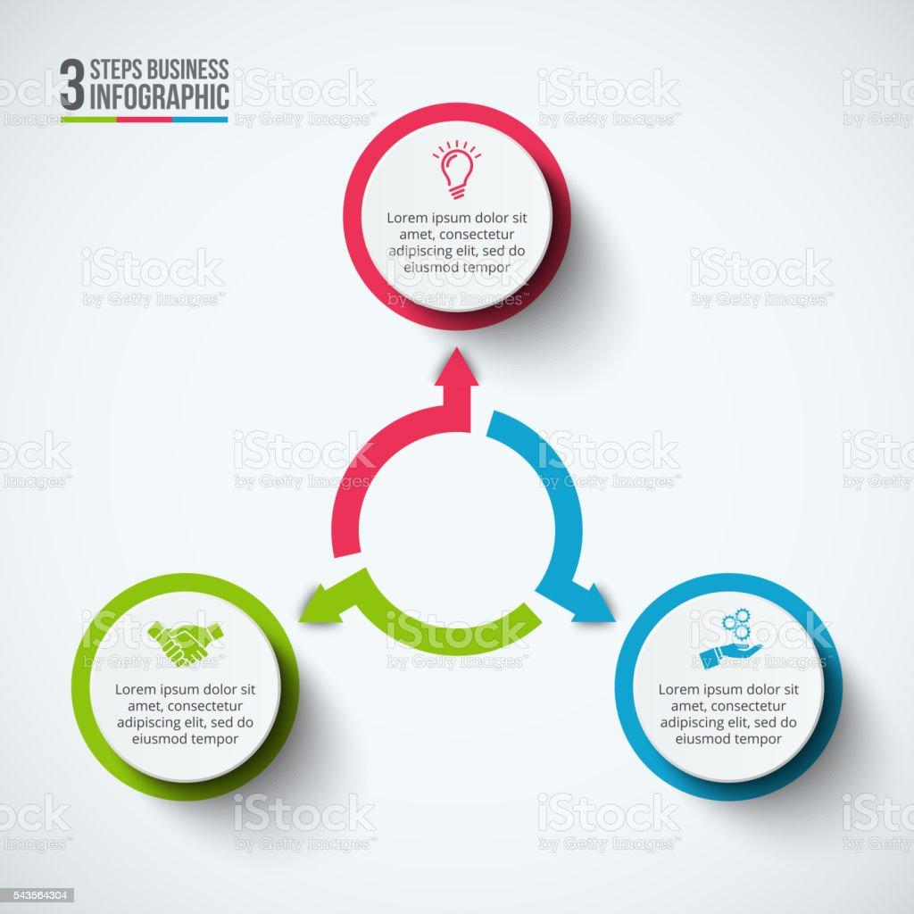 Ilustración de Vector De Infografía Diseño Plantilla y más banco de ...