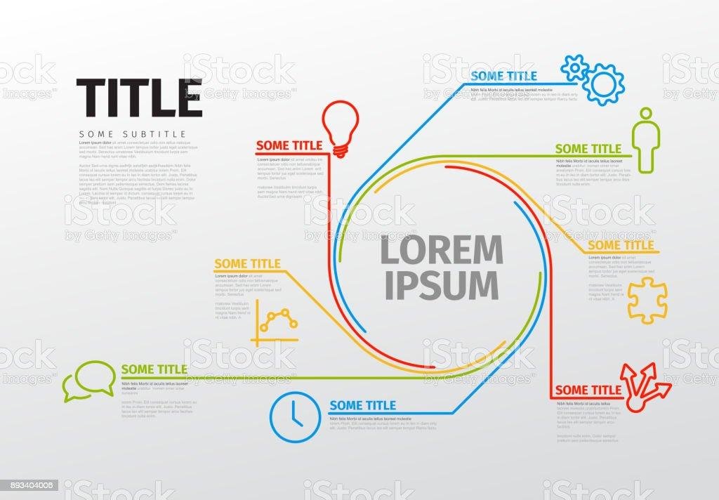 Vector infographic schema template stock vector art more images of vector infographic schema template royalty free vector infographic schema template stock vector art amp ccuart Images