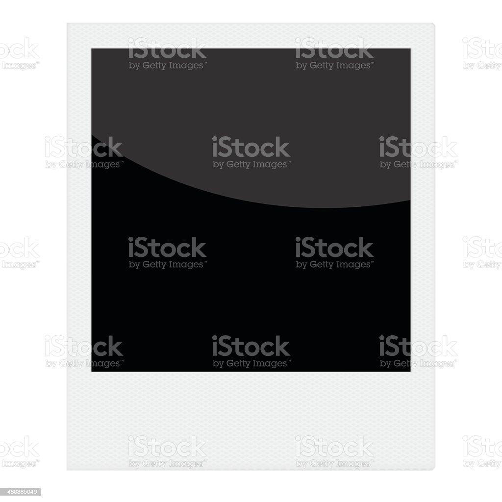 Instant Bilderrahmen Vektor Vorlage Stock Vektor Art und mehr Bilder ...