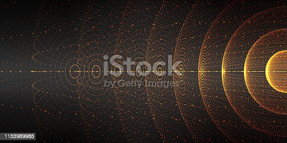 Vector interstellar space background.Cosmic galaxy illustration.Background with nebula, stardust and bright shining stars.Vector Illustration for party ,artwork, brochures