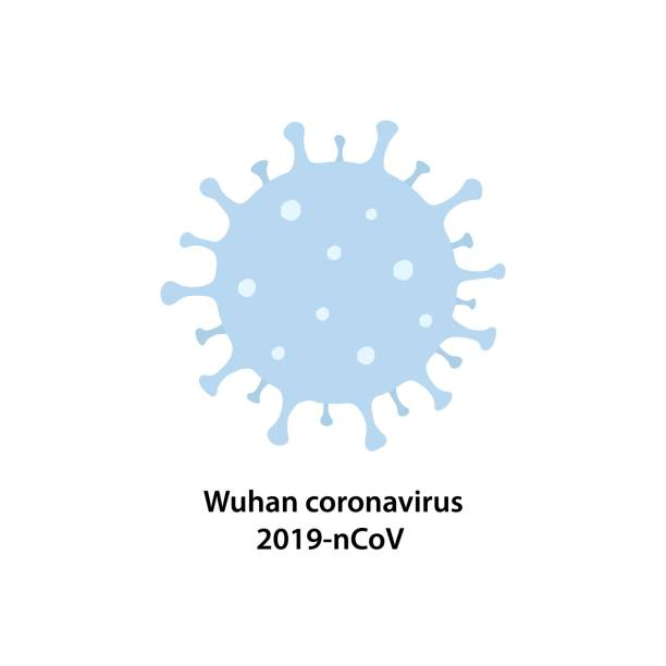 vector isolated icon of novel virus 2019-ncov, the wuhan coronavirus. - virus stock illustrations