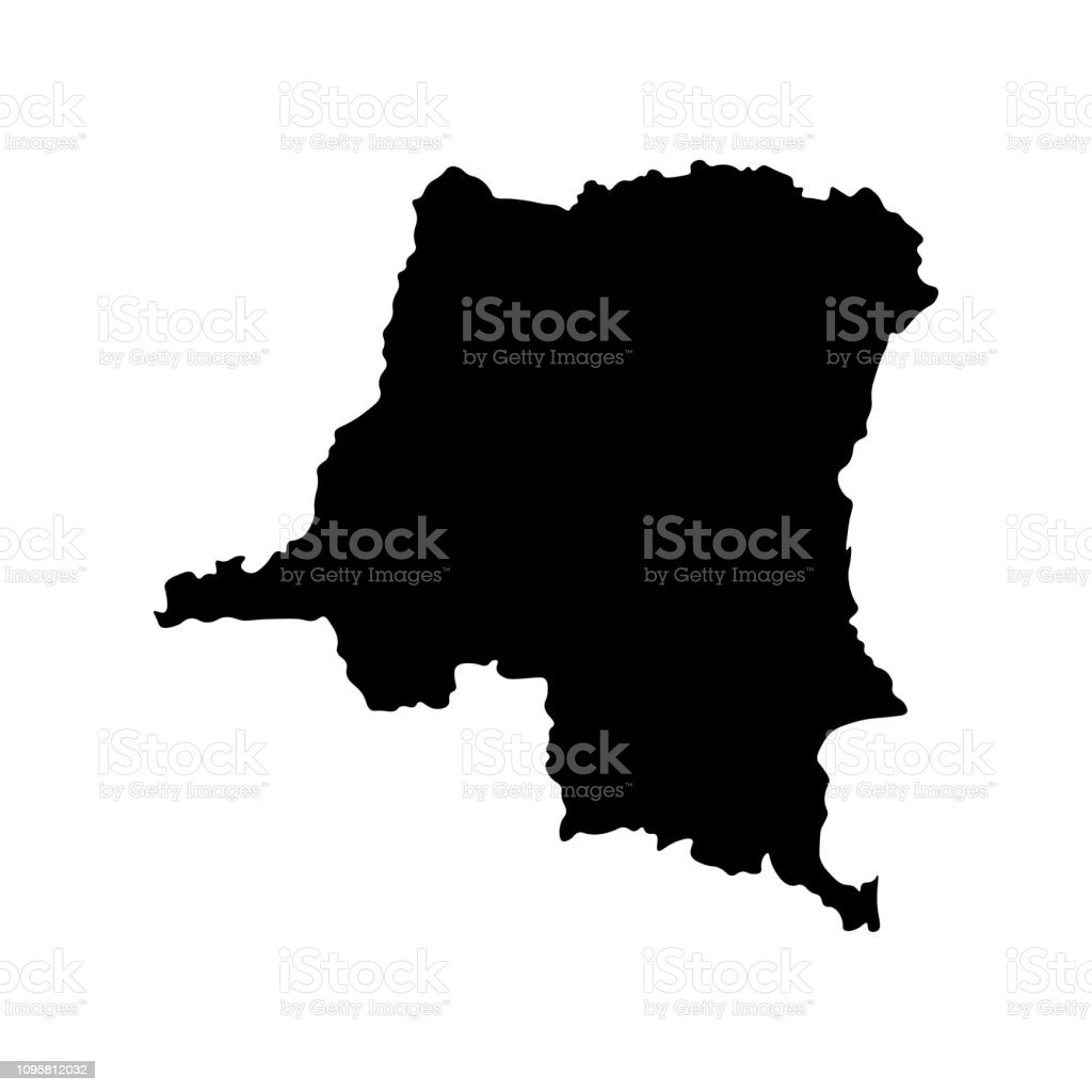 Vector Isolated Illustration Of Political Map African State