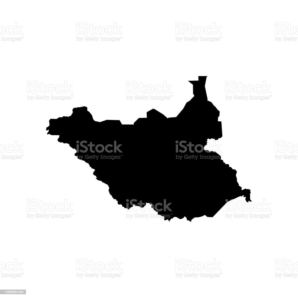 Vector Isolated Illustration Of Political Map African State South