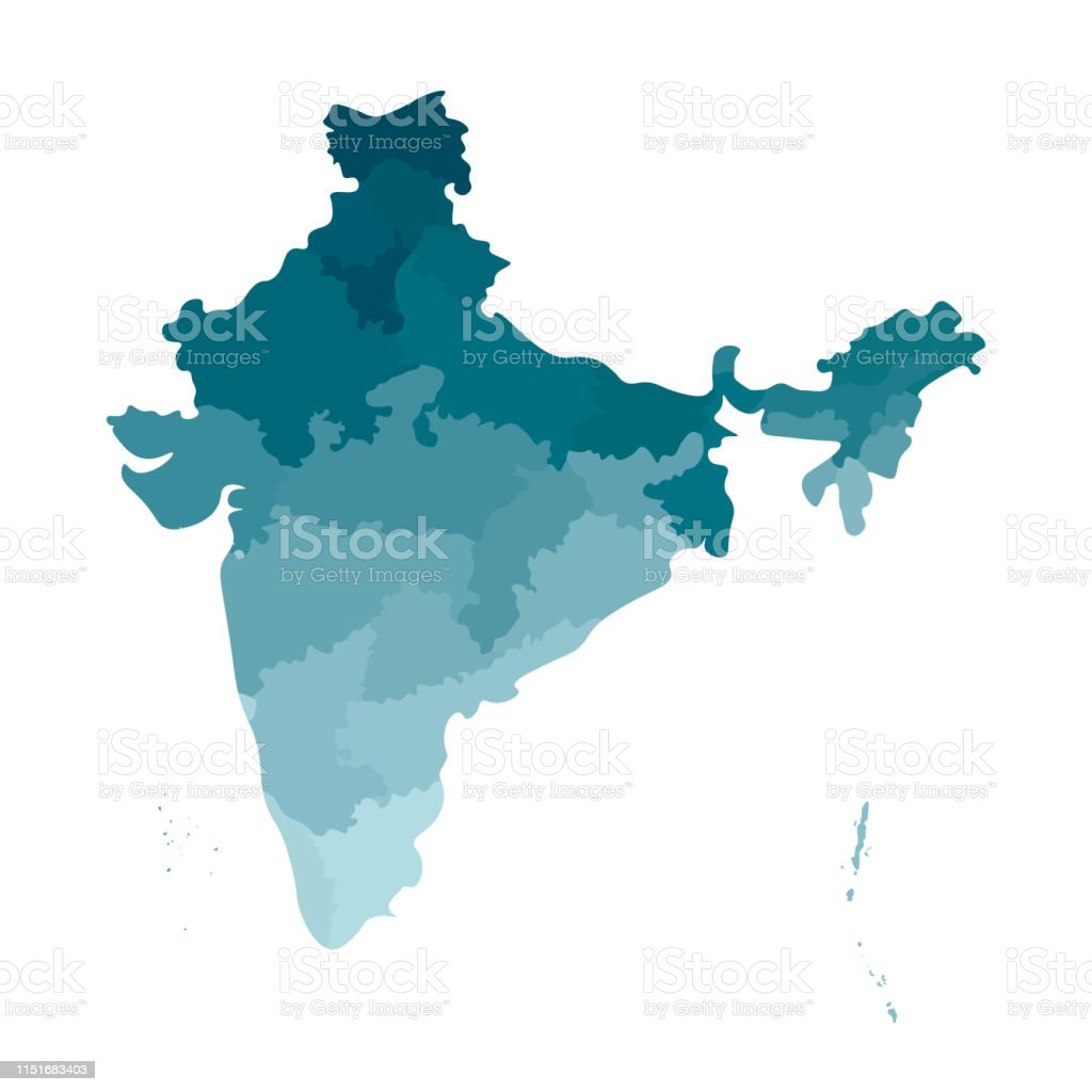 India Map With State Borders on india map with lakes, india map with important cities, india map with capitals, india map with roads, india map with rivers, india map with airports, india map with railroads, india map with mountain ranges,