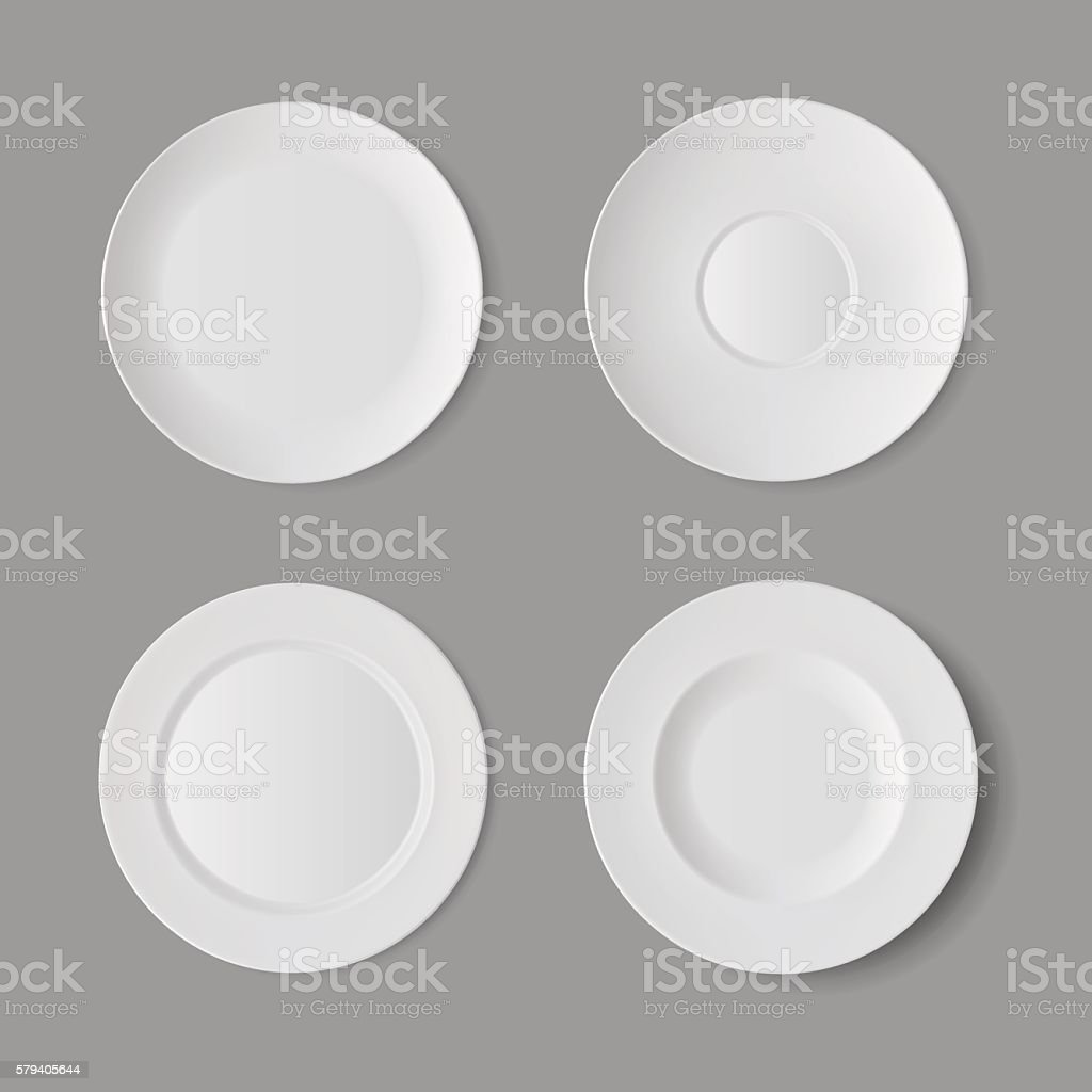 Vector Isolated on Background. Table Setting - Illustration vectorielle
