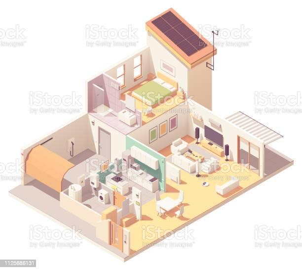 Vector isometric house crosssection vector id1125686131?b=1&k=6&m=1125686131&s=612x612&h=drukuylcsv8o1unawwxxxdljkbzxqhrrcu6bl3pwsry=