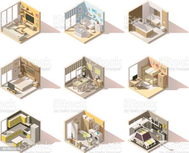 Vector isometric low poly home rooms set vector id641642678?b=1&k=6&m=641642678&s=612x612&h=dmlfydfplidhqyuxltsjg 4hn9yezo8ycxcqwkj6ers=