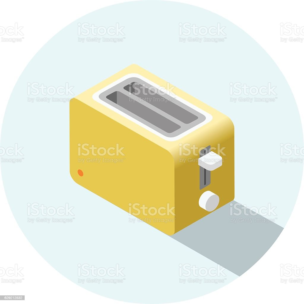 Yellow Kitchen Equipment: Royalty Free Toaster Clip Art, Vector Images