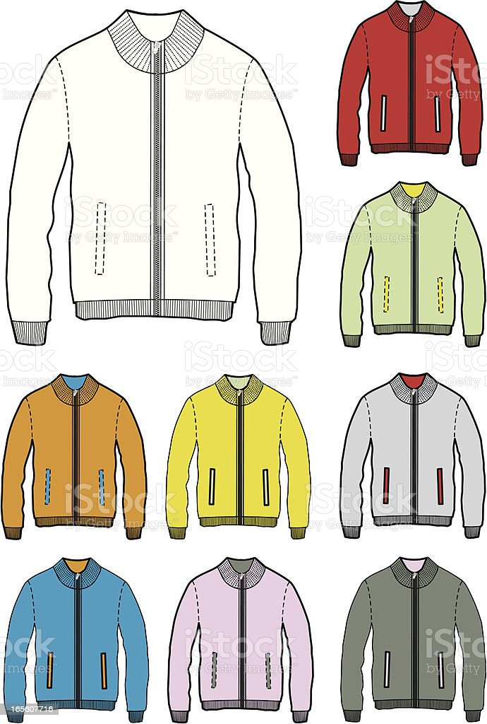 vector jacket royalty-free vector jacket stock vector art & more images of adult