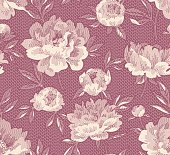 Seamless two color pattern