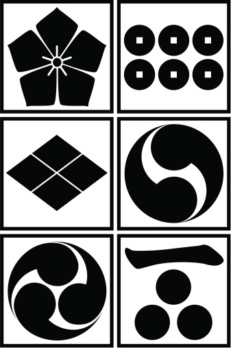 vector - Japanese traditional pattern set