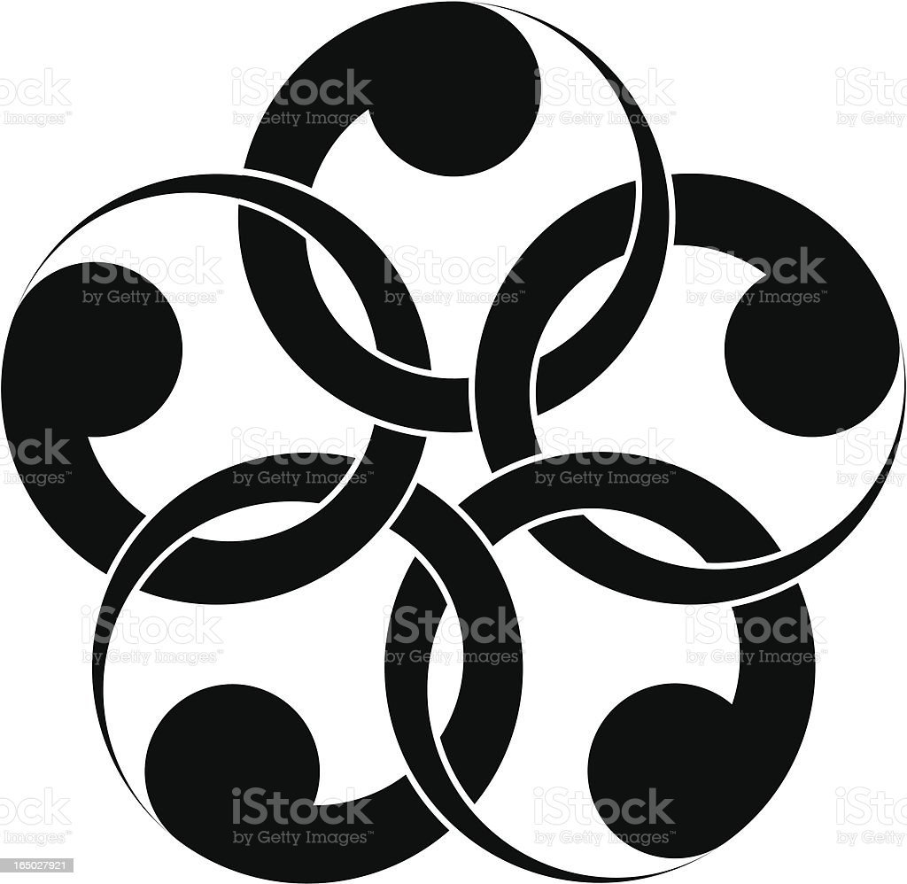 vector - Japanese traditional pattern #2 royalty-free stock vector art