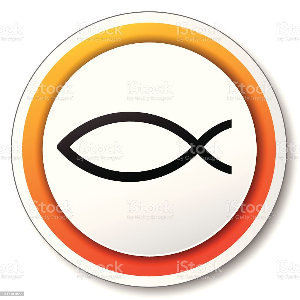Vector Jesus Fish Icon Stock Vector Art More Images Of Catholicism