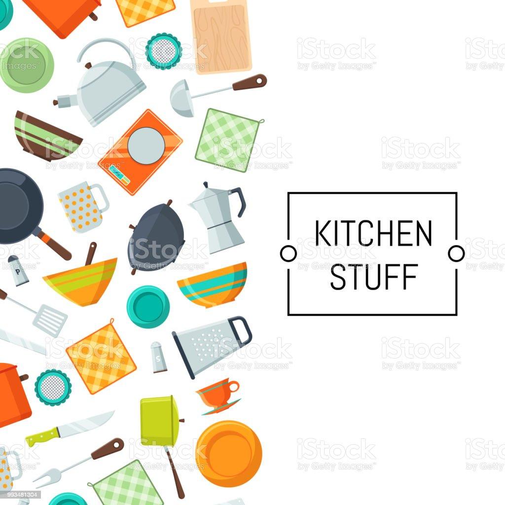 kitchen utensils background black vector kitchen utensils flat icons background royaltyfree vector stock kitchen utensils flat icons background stock art
