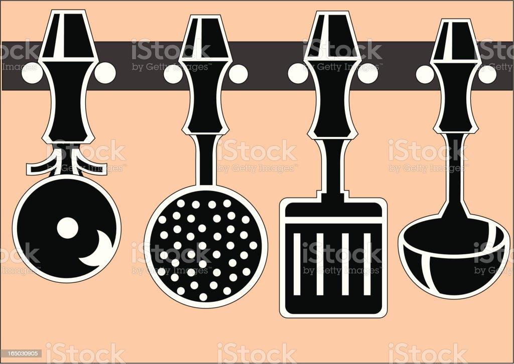 Vector Kitchen Utensils royalty-free vector kitchen utensils stock vector art & more images of breakfast