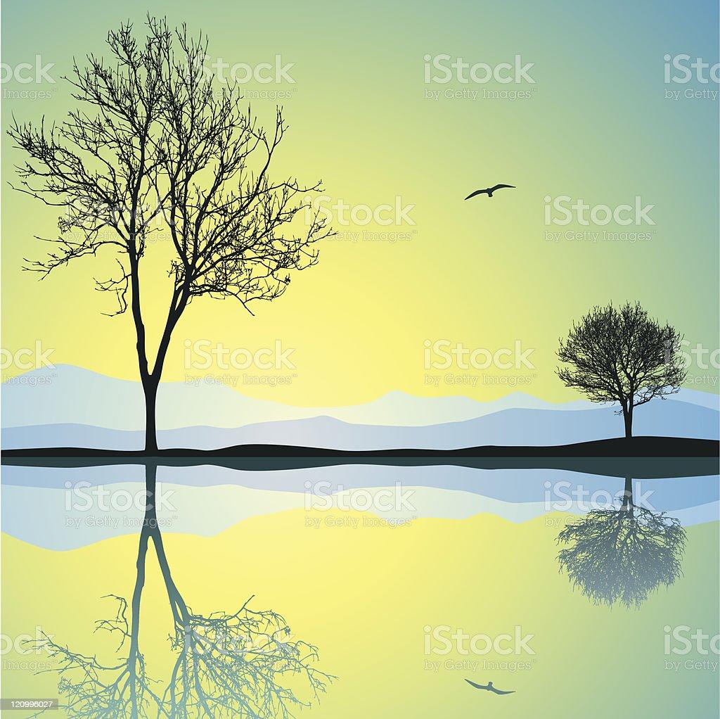 Vector Landscape royalty-free vector landscape stock vector art & more images of color image