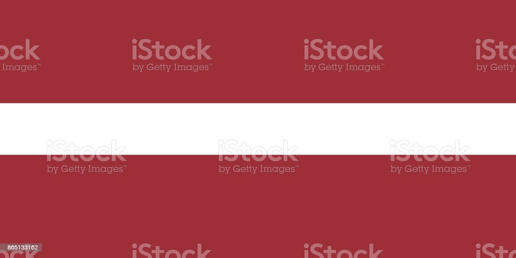 Vector Latvian Flag In Original Ratio and Colors royalty-free vector latvian flag in original ratio and colors stock illustration - download image now