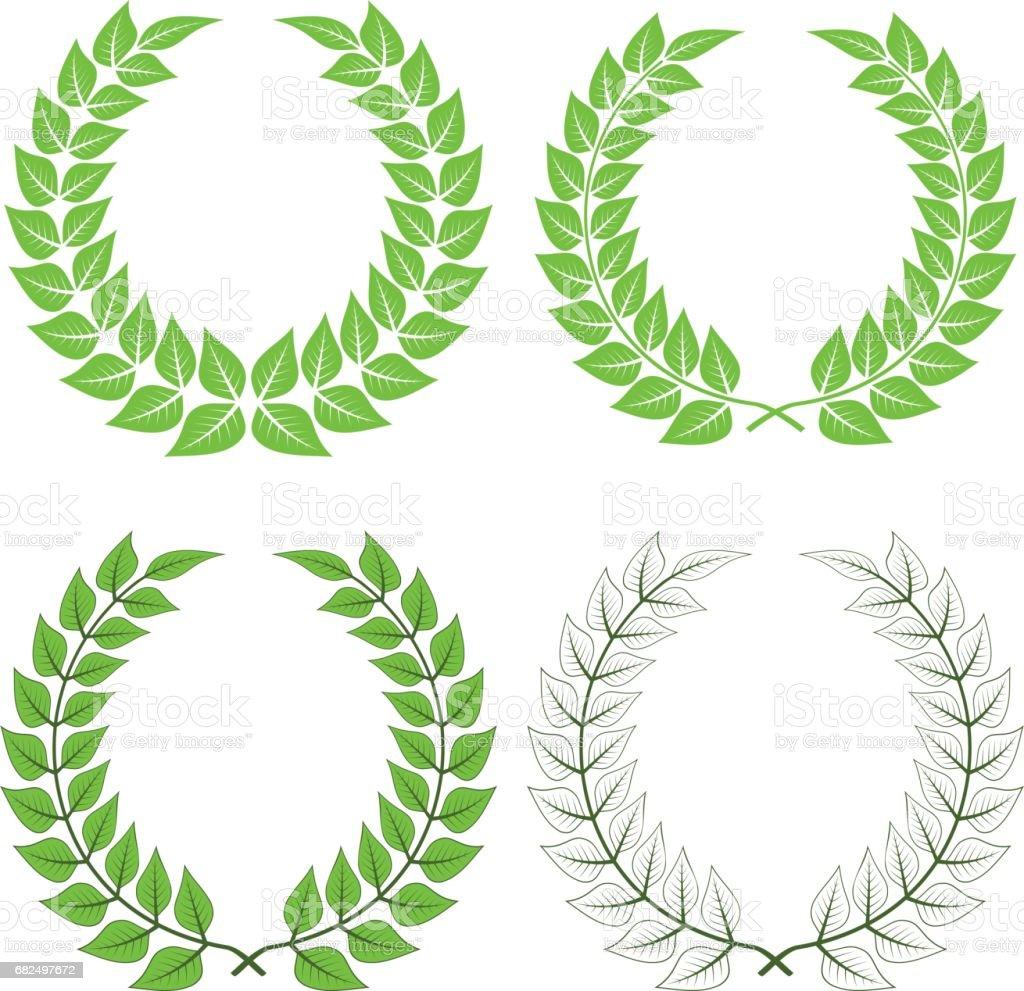 vector laurel wreaths royalty-free vector laurel wreaths stock vector art & more images of anniversary