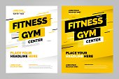 Vector layout design template for sport