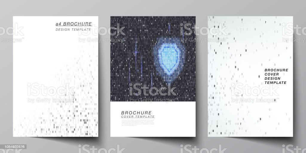 a4 フォーマット カバー モックアップ デザイン パンフレット雑誌チラシ