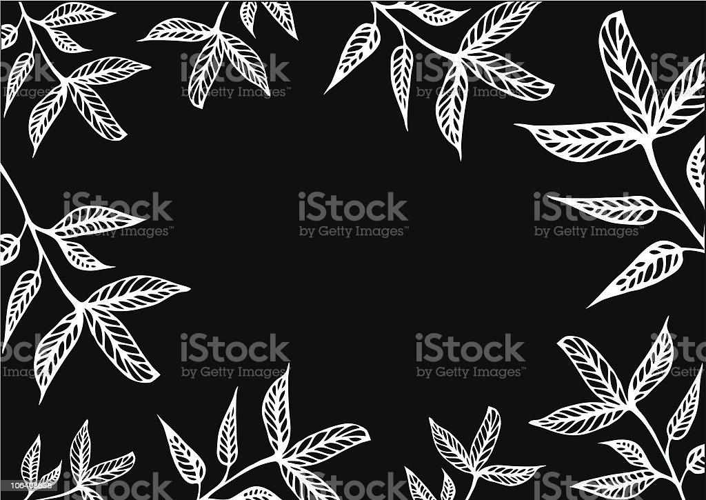 vector leaf vector art illustration