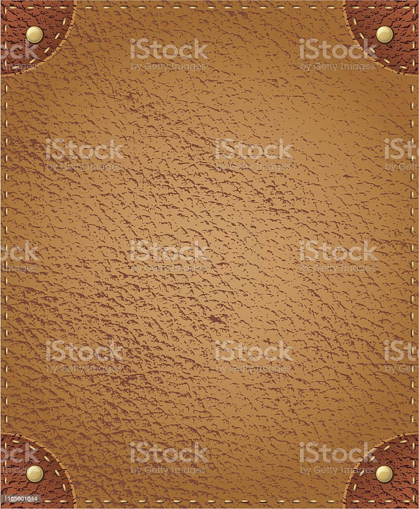 Vector Leather Background royalty-free stock vector art