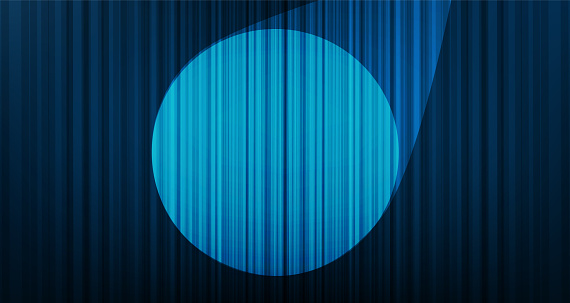 Vector Light Blue curtain background with Stage light,Hight Quality and modern style.