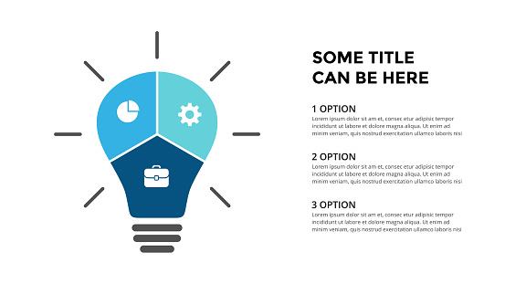 Vector Light Bulb Infographic Template For Diagram Graph ...