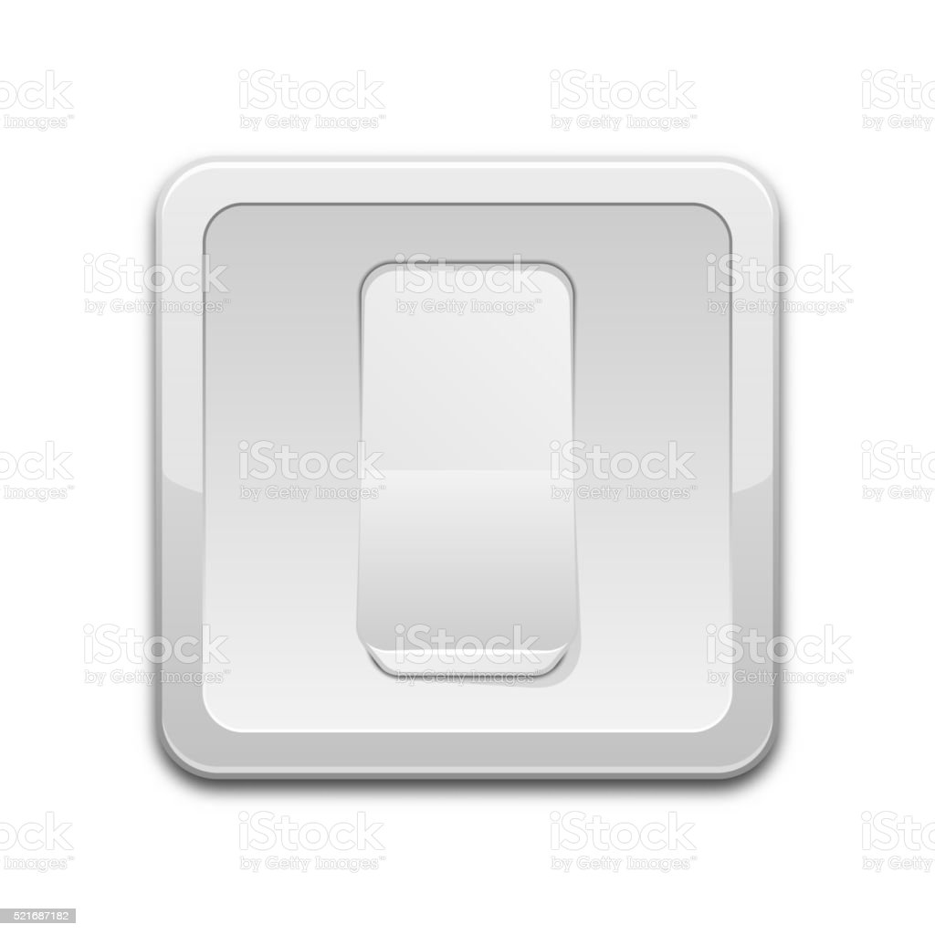 Vector Light Switch Icon Royalty Free Stock Art