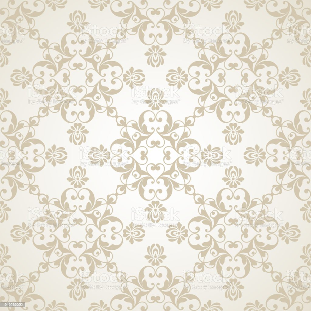 Vector Light Wedding Background Seamless Abstract Pattern ...