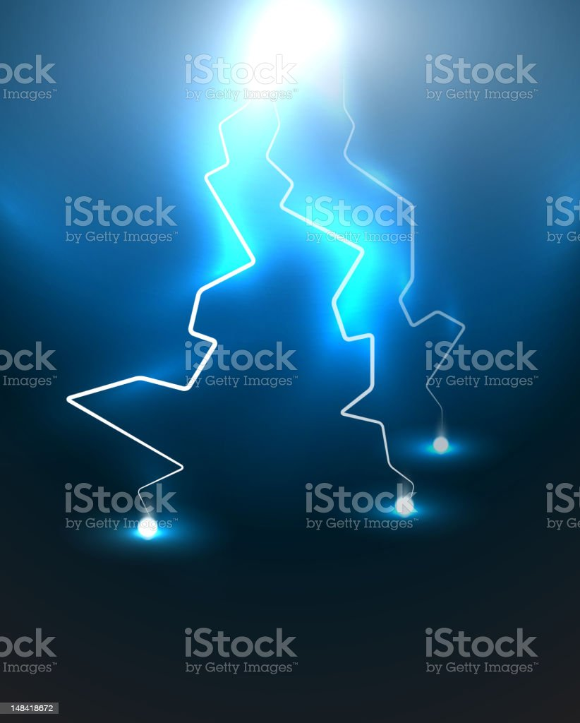Vector lightning royalty-free vector lightning stock vector art & more images of backgrounds